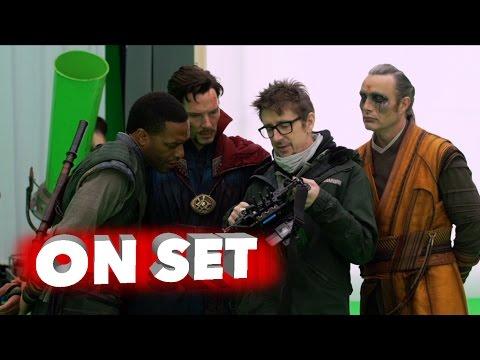 Doctor Strange: Behind the Scenes Movie Broll - Benedict Cumberbatch