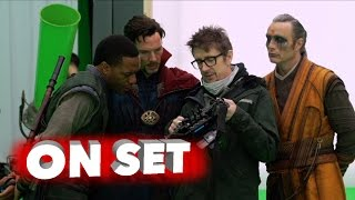 Doctor strange: behind the scenes movie broll - benedict cumberbatch