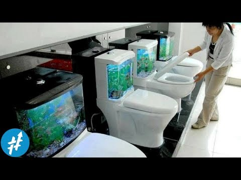 Absurd! 15 Desain Toilet Paling ANEH Dan UNIK Di Dunia