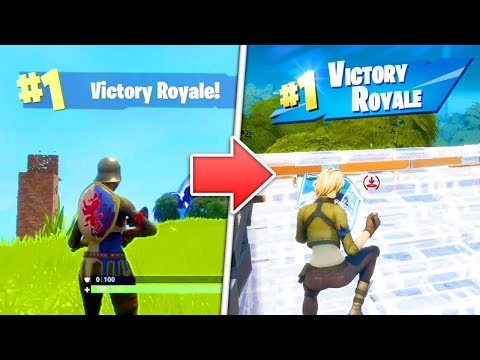 Fortnite Victory Royale From EVERY SEASON! (Season 1 - Season 11)