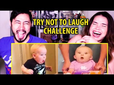 TRY NOT TO LAUGH CHALLENGE | FUNNY KIDS | Reaction!