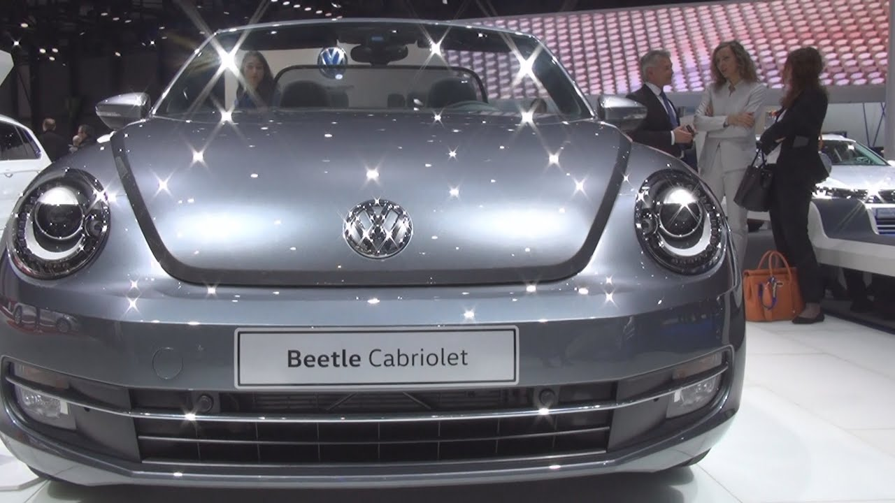 Volkswagen Beetle Cabriolet AllStar 1.2 TSI 105 hp (2016) Exterior and Interior in 3D - YouTube