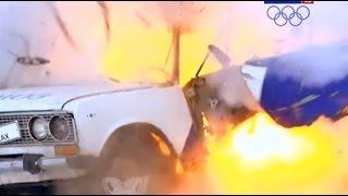 Что будет если взорвать гранату в автомобиле?
