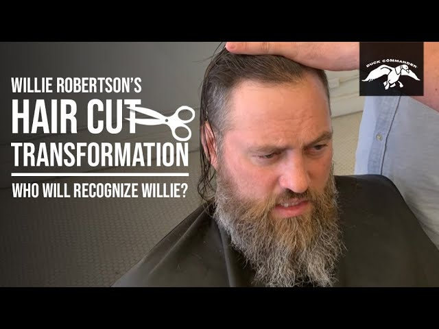 Willie Robertson S Hair Cut Transformation And Family Reactions Youtube