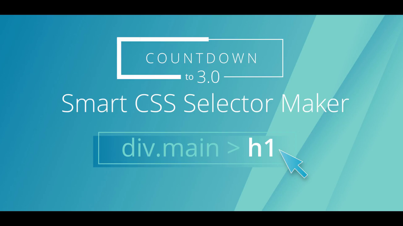 Countdown To Pinegrow 3 0 Interactive Css Selector Maker