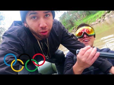 Lancha Loca En Los Olímpicos Parte 3 | Termina Mal (BayBaeBoy Vlogs)