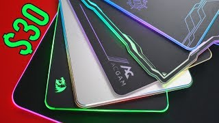 Best Budget RGB Gaming Mousepads Under $30