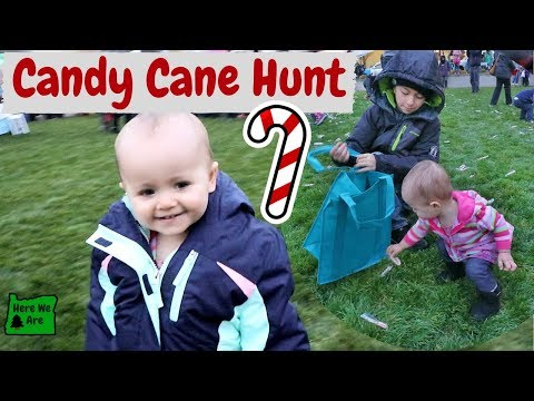 Candy Cane Hunt in Medford, Oregon | Family Vlog