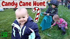 Candy Cane Hunt & Christmas Parade | Holiday Events in Oregon | Family Vlog