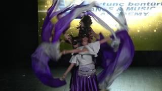 Aytunç Bentürk D.A yıl sonu gösterileri 2017 ABDA DANCERS- SPECIAL ORYANTAL SHOW Serap&Pelin Team