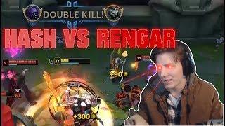 Hashinshin VS RENGAR (and why he's OP Top) - Streamhighlights