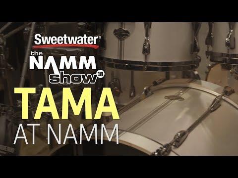 TAMA 2018 Drum Lineup at Winter NAMM 2018