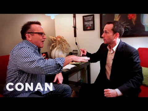 Jimmy Pardo Punches Tom Arnold In The Face  CONAN on TBS