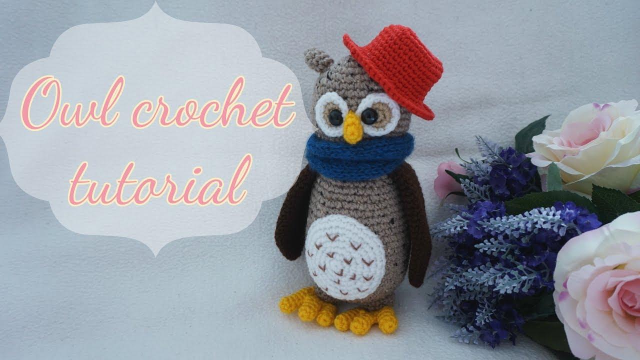 Amigurumi Owl Free Pattern : Crochet owl amigurumi tutorial: crochet owl ornament key chain