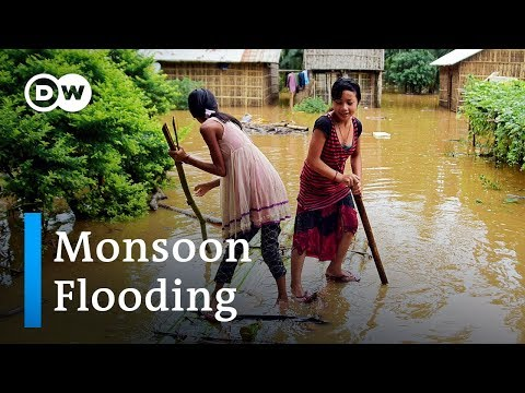 Deadly monsoon flooding in South Asia | DW News