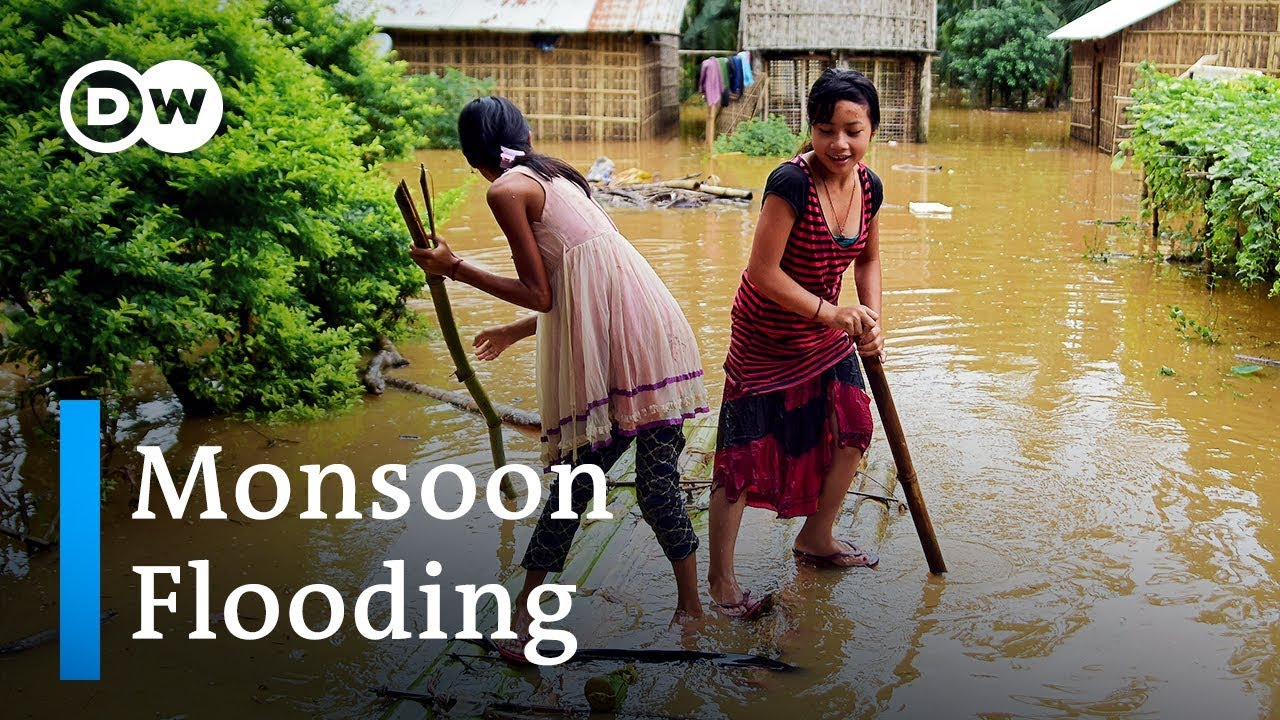 (SOUTH ASIA, July 2019) Deadly monsoon flooding in South Asia | DW News
