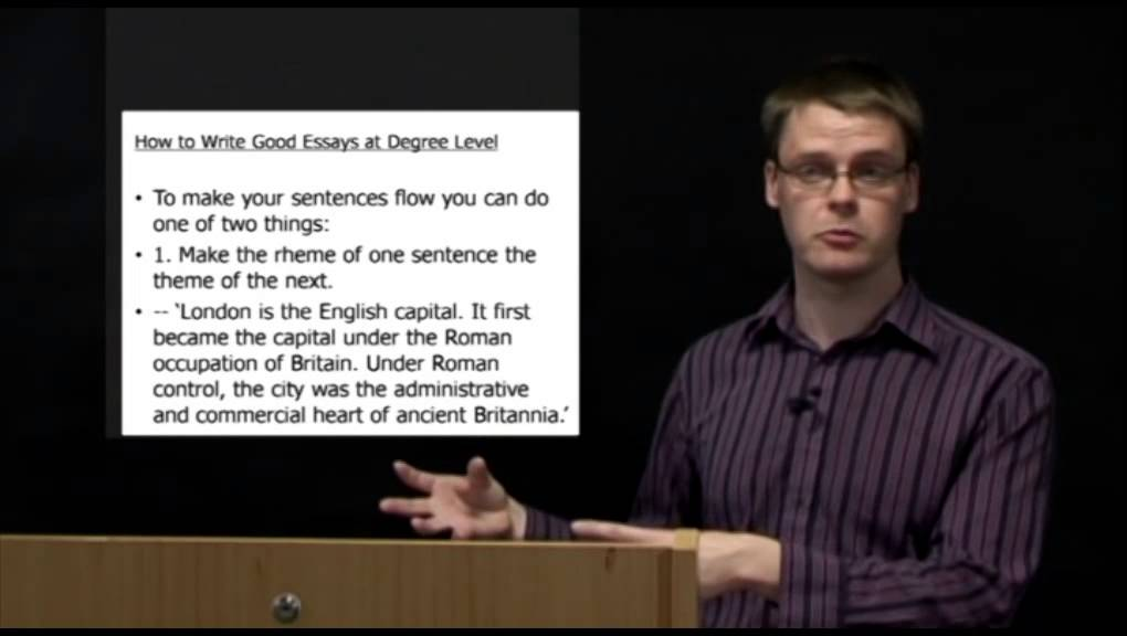 how to write good essays at degree level pt dr owen clayton  how to write good essays at degree level pt2 dr owen clayton