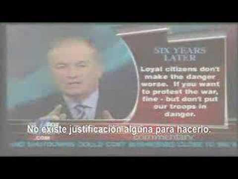 Bill O'Reilly critica REDACTED