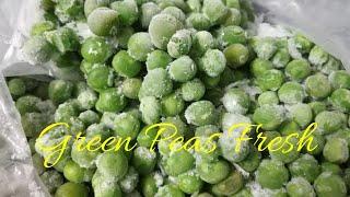 How to store green Peas Fresh