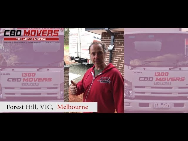 Leading Removalists Company in Forest Hill, VIC,  Melbourne