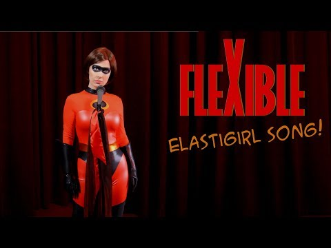 Incredibles 2 Song | FLEXIBLE | Elastigirl In Real Life (Whitney Avalon & Brendan Milburn)