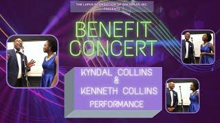 "Kyndal Collins & Kenneth Collins ""Unforgettable"": LFOA, Inc. 2021 Benefit Concert"
