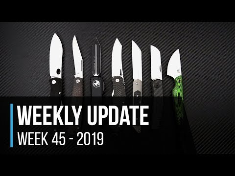 Weekly Update 45 - 2019: New Boker, Smith & Sons, ZT 0230 And Gerber Sale