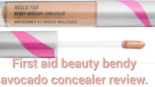 First aid beauty bendy avocado concealer review!