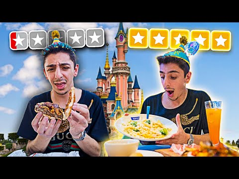 Worst VS Best Reviewed Food at DISNEYLAND!! **shocking**