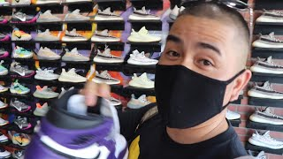 TOOK MY VIDEOGRAPHER SNEAKER SHOPPING!!