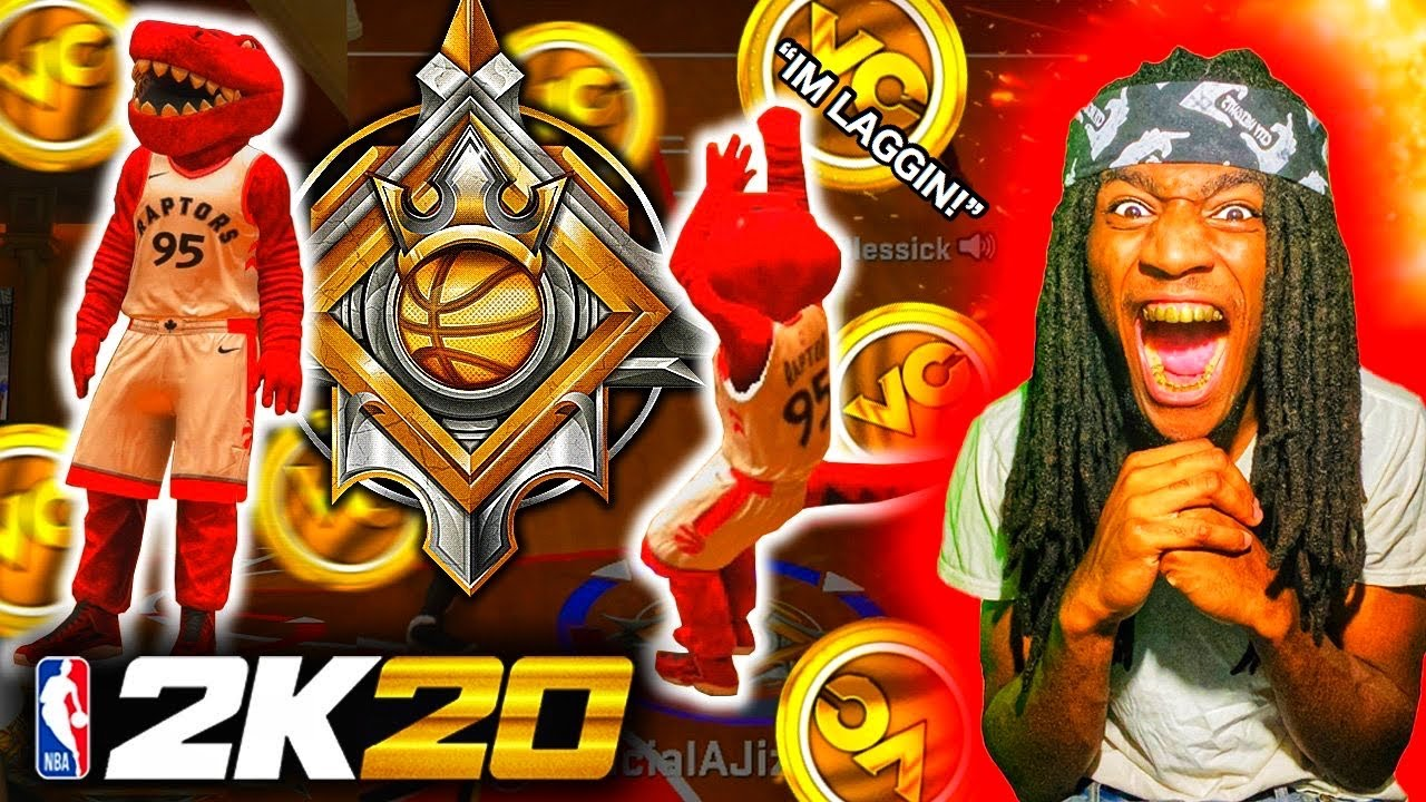 DAVO MIGO TROLLING at the STAGE ANTE UP on 10K COURT as a LEGEND on NBA 2k20! TOO FUNNY!