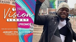 Pastor Brandon invites YOU! | VISION SUNDAY 2020 (Promo) | Transformation Christian Fellowship