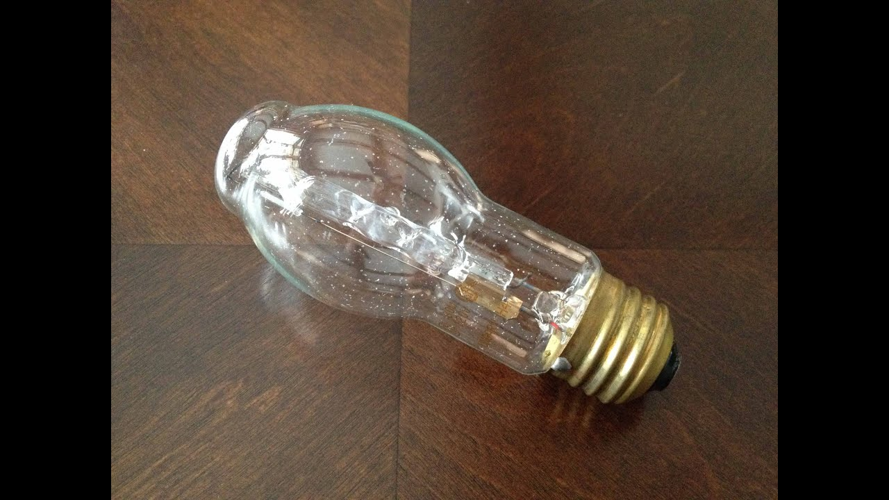 Old GE watt Clear Halogen Light Bulb