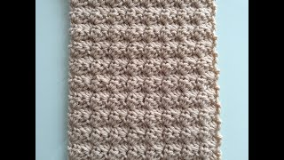 ~CROCHET COMBO STITCH ~| Great for Blankets, Scarfs or Hats ~BEGINNER STITCH LEVEL