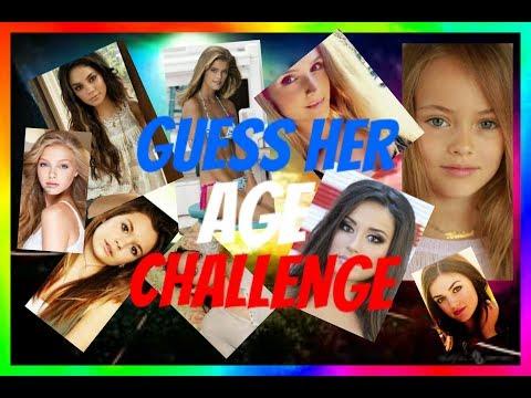 Je Devine Lâge Des Filles Guess Her Age Challenge