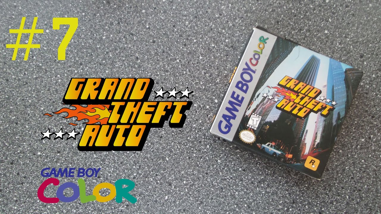 Gta 2 gameboy color - Gta Unboxing Gameboy Color Gbc