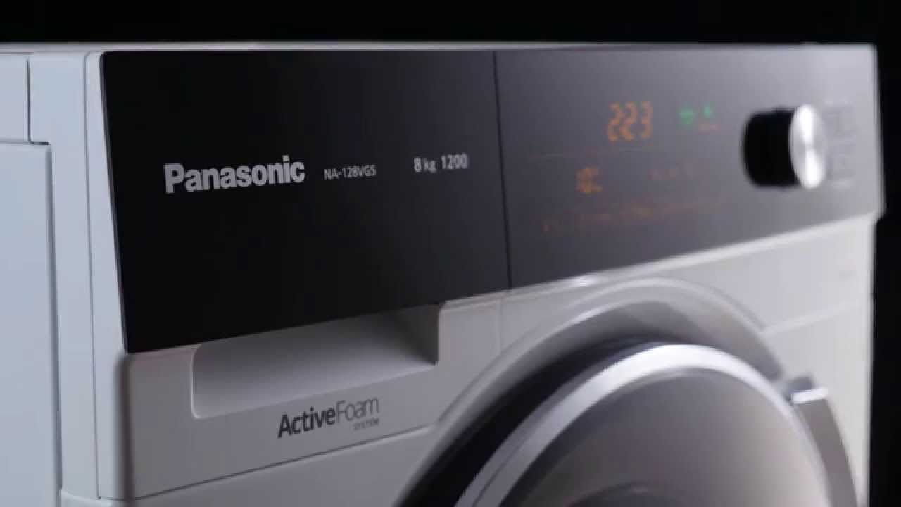 Introducing Panasonic Front Load Washing Machine Na 128vg5