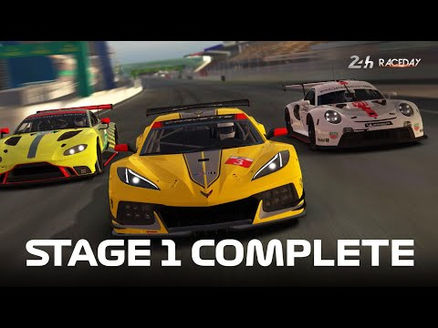 Real Racing 3 - Race Day: Le Mans 2020 Stage 1 Complete