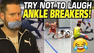 Try Not to Laugh: Basketball Ankle Breakers