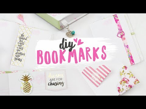 DIY Bookmarks | 5 Different Ways