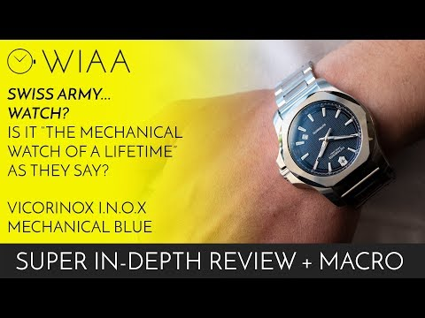 The Mechanical Watch Of A Lifetime? Victorinox I.N.O.X Mechanical Blue Watch Review