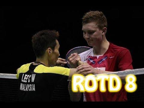 Rallies Of The Day 8 - Lee Chong Wei  vs Viktor Axelsen  | 2016 Thomas Cup Semi Final