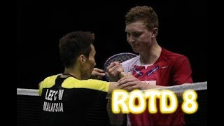 Rallies Of The Day 8 - Lee Chong Wei 李宗伟 vs Viktor Axelsen 安赛龙 | 2016 Thomas Cup Semi Final