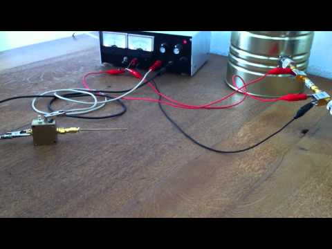 Basic Radio Telescope system components tabletop test