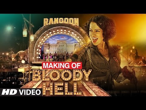 Making of Bloody Hell Video Song | Rangoon...