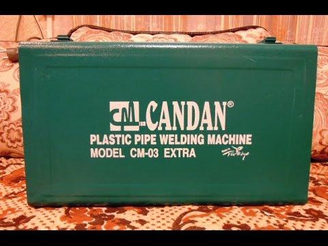 Полипропиленовый сварочный аппарат CANDAN CM 03 --обзор