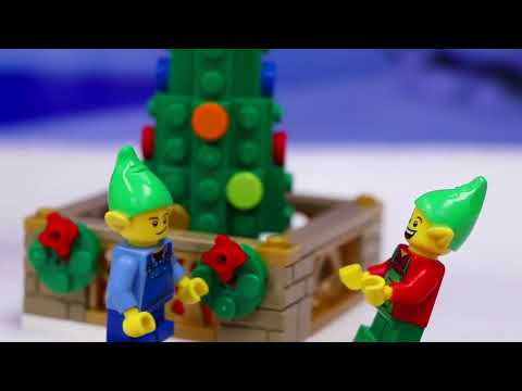 Paw Patrol 2018 | Lego Christmas Tree Falls on Rudolph Red-Nosed ...