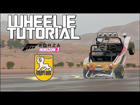 Wheelie Tutorial & Guide -  MEYERS MANX - Forza Horizon 3