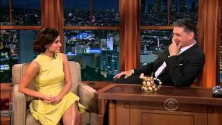 Jenna Louise-Coleman on Craig Ferguson 3-18-2013