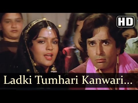 Ladki Tumhari Kanwari HD  Krodhi 1981 Song  Dharmendra  Shashi Kapoor  Zeenat Aman